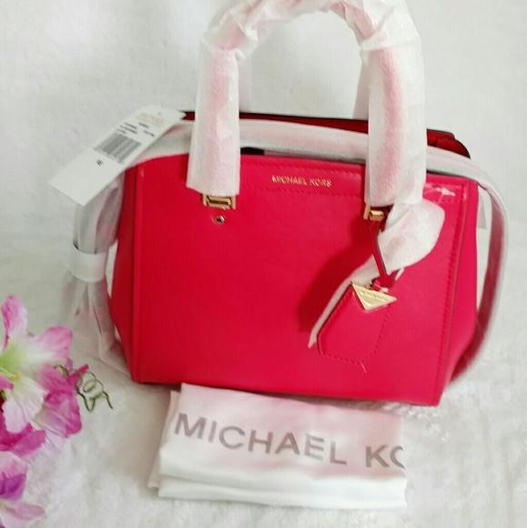 eea8db8a468f Michael Kors Bags | Benning Medium Leather Satchel | Poshmark